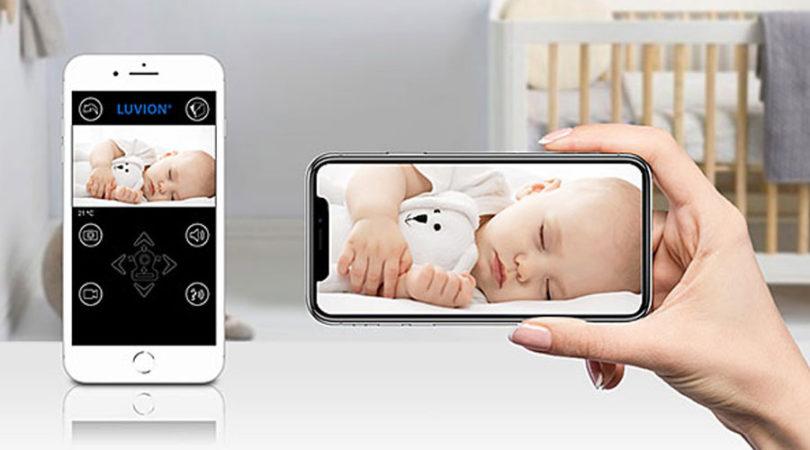 Babyfoon met app