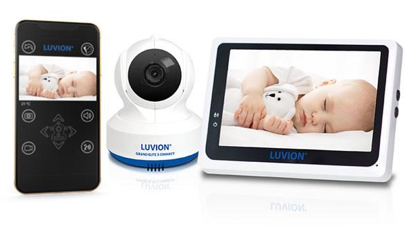 Luvion Grand Elite 3 Connect babyfoon met app